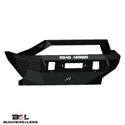 Road Armor 5072F3Z Fnt Stalth Seris Mid With Raw Wich HD Bmpr for 07 18 Wrangler $1154.77