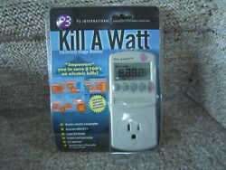 P3 KILL A WATT Power Usage Voltage Meter Monitor P4400 NEW $29.99
