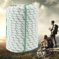 Double Braid Polyester Rope 125Ft 8400Lbs Breaking Strength for Tie Climb Knot h $33.95