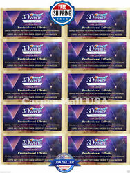 CREST Whitestrips 3D White LUXE Professional Effects 10 Pouches 20 Strips NEW $9.99