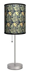 ON SALE Lamp In A Box Dcor Art Flowers and Birds Sport Silver Lamp BB15 G $14.99