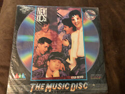 New Kids on the Block LASERDisc Step by Step Digital Sounds Stereo $10.00