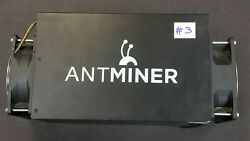 Used BitcoinMiner Bitmain Antminer S3 No PSU 440 GH s untested for parts #3 $49.95