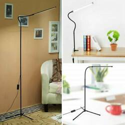 Dimmable LED Floor Lamp Tripod Stand Table Reading Light Adjustable Home Office $34.68