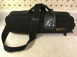 Protec Flute Case Cover Slightly Used Padded large exterior pocket strap