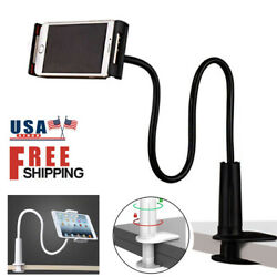 Flexible Long Arms Universal Desk Tablet Phone Stand Holder for iPhone Samsung $7.99