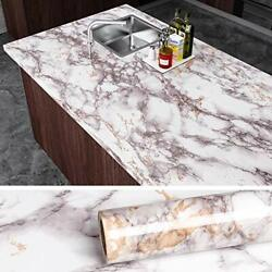 VEELIKE Grey Marble Contact Paper Counter Top Covers Peel and Stick Wallpaper $18.31
