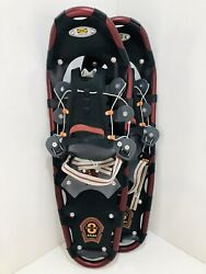 "Atlas Snowshoes 825 Series 8 8"" x 25quot; Aluminum Maroon Great Condition $78.95"