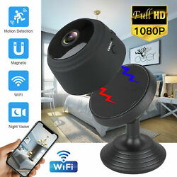 USA Mini Camera Wireless Wifi IP Home Security HD 1080P DVR Night Vision Remote $22.55