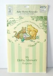 Party Express by Hallmark Baby Shower Keepsake Classic Winnie the Pooh NIP RARE $7.99