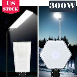 300W100W LED Commercial Street Light LED Outdoor Garden Yard Road Lamp IP65 NEW