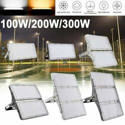 300W 200W 100W LED Flood Light Outdoor Fixtures Lamp Lighting Outside Gym Lamp