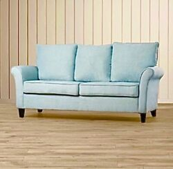 Gently Used Light Blue Joss amp; Main Couch