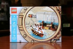 Lego Ideas Ship in a Bottle 21313 *New Factory Sealed* Ships Free $89.99