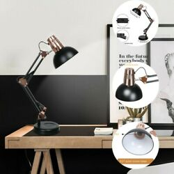 Metal Desk Lamps Adjustable Neck Architect Table Lamp Swing Arm Desk Lamp 40W $28.15