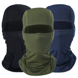 Balaclava Cold Weather Face Mask Windproof Ski Mask Tactical Hood for Men Women $8.99