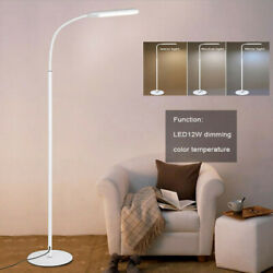 Adjust LED Floor Lamp Light Standing Reading Home Office Dimmable Desk Table US $8.54