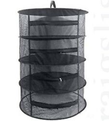 Curing Dry rack with zippers mesh hanging for grow and flower hydro drying cure $4.99