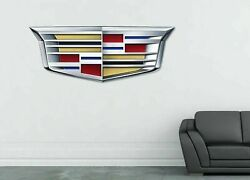 Cadillac Wall Decals Stickers mural home decor for bedroom for cars windows ST79 $20.79