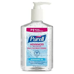Purell Advanced Hand Sanitizer Refreshing Gel for Workplaces Clean scent $12.22