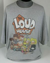LOUD HOUSE NICKELODEON NICK CARTOON MENS T SHIRT SIZE 4XL XXXXL FREE SHIPPING $9.99