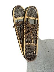 """Tubbs Wooden Snowshoes S 10X36"""" Wallingford VT $79.90"""