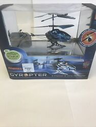 NIB Propel RC Gyropter 2.4GHz Motion Control Gyro Helicopter Blue $25.30