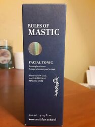 Too Cool For School Rules of Mastic Facial Tonic 4.05 fl oz New in Box $17.99