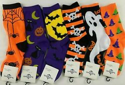 Yacht amp; Smith Novelty Halloween Socks Womens Shoe Size 9 11 New 1 Pair $8.99