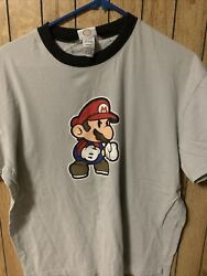 Paper Mario Sticker Star large Video Game T shirt $8.00