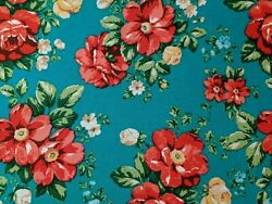 NEW THE PIONEER WOMAN 100% COTTON FAT QUARTER VINTAGE FLORAL FABRIC $5.49