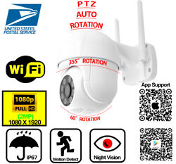 HD 1080p WiFi IP Wireless Outdoor 360° PTZ Zoom Security Camera CCTV IR Webcam $38.79