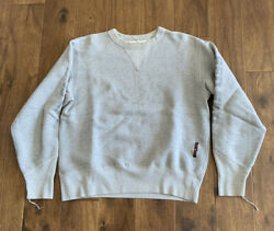 Red Ear Men#x27;s Pull over Sweatshirt Gray Size M $45.00