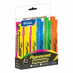 Desk Style Fluorescent Highlighters 12 Box $8.99