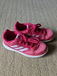 Girls Hot Pink Adidas Shoes Size 3 $12.99