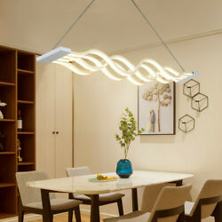 LED Pendant Light Dimmable Ceiling Hanging Lamp Modern Chandeliers Living Room $89.99
