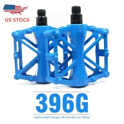 Mountain Bike MTB BMX Bicycle Cycling Alloy Flat Platform Bearing Pedals 9 16 in $12.25