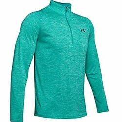 UNDER ARMOUR MEN#x27;S TECH 2.0 1 2 ZIP LONG SLEEVE SHIRT ASSt SIZES 1328495 454 $24.99