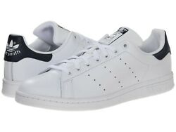 Men#x27;s Shoes adidas STAN SMITH Casual Leather Lace Up Sneakers M20325 WHITE $77.00