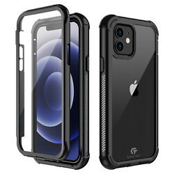 For iPhone 12 Mini 12 Pro Max Case Cover Shockproof Waterproof Screen Protector $14.98