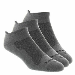 Asics Cushion Low Cut Socks Mens Socks Pack Of 3 Total 9 Pairs LARGE $18.99