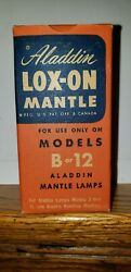 ALADDIN LAMP LOX ON MANTLE NEW OLD STOCK $16.49