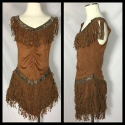 Franco American Novelty Women's Classic Native American Indian Dress Costume Med $17.50