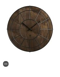 CB2 Wall clock Wooden Modern Home Decor $59.00