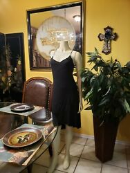 Black evening Dance dress