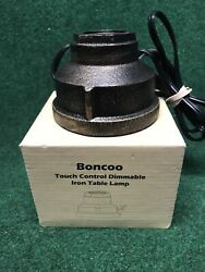 Boncoo Touch Control Table Lamp Vintage Desk Lamp Small Industrial Touch Light B $38.00