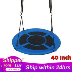 40quot; Flying Saucer Tree Swing Childrens Swing Easy Install Outdoor Indoor Play $38.99