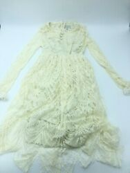 Trish Scully white lace dress girls 8 $32.00