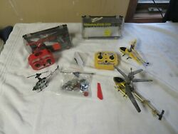 RC Helicopter FOR PARTS AS IS UNTESTED $49.99