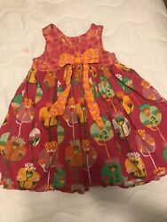 Jelly The Pug Girls Dress Size 6 $8.00